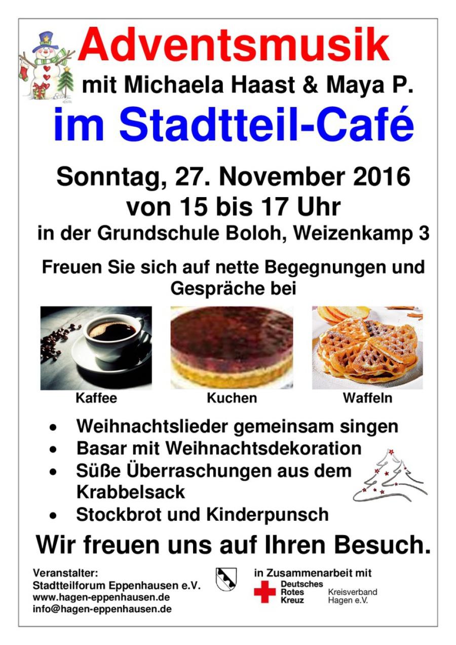 Charmant Stadtteil Café Mit Adventsmusik Und Weihnachtsbasar